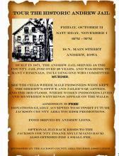 Halloween Tour of Historic Andrew Jail